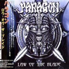 Paragon- Law of the Blade CD (Japan) SB1002-2