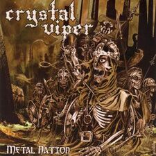 Crystal Viper - Metal Nation CD KR 044