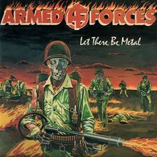 Armed Forces - Let There Be Metal LP AF001