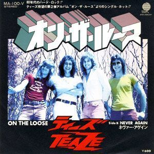 Teaze - On the Loose / Never Again 7-Inch