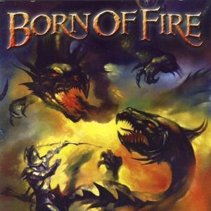Born of Fire - Born of Fire CD