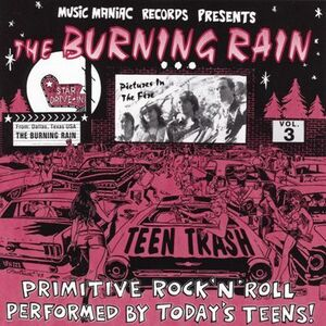 The Burning Rain - Teen Trash Vol 3 CD
