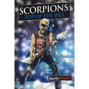 Scorpions - Top of the Bill Book