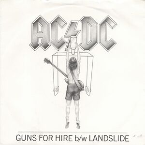 AC/DC - Guns For Hire / Landslide 7inch