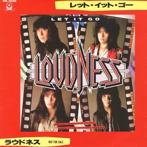 Loudness - Let It Go / Fare Well 7inch