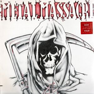 Various Artists - Metal Massacre 4 LP