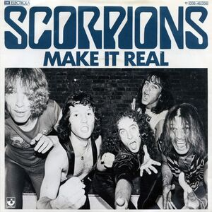 Scorpions - Make It Real 7inch