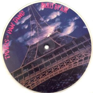 Tygers Of Pan Tang - Paris By Air 7inch (Pic Disc)