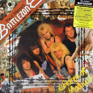 Paul Di'anno's Battlezone - Children Of Madness LP