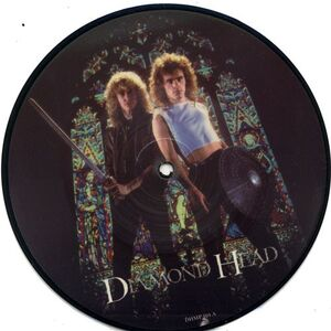 Diamond Head - Out Of Phase / The Kingmaker 7inch (pic disc)