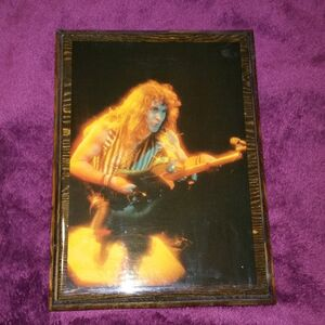 Steve Harris (Iron Maiden) Wooden Plaque