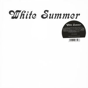 White Summer - White Summer LP