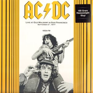 AC/DC - Live At Old Waldorf In San Francisco September 3rd, 1977 LP