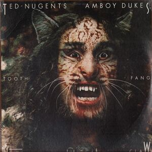 Ted Nugent's Amboy Dukes - Tooth, Fang and Claw LP