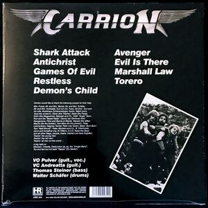 Carrion - Evil Is There LP