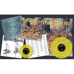 Infernal Majest Unholier Than Thou Lp yellow vinyl