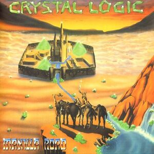 Manilla Road - Crystal Logic LP
