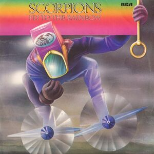 Scorpions - Fly To The Rainbow LP