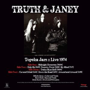 Truth And Janey - Topeka Jam 2-LP