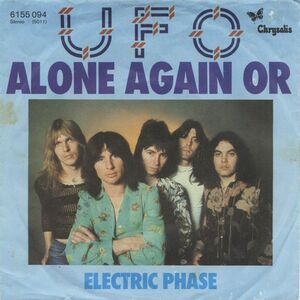 UFO - Alone Again Or / Electric Phase 7-inch