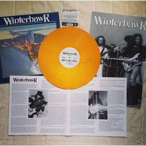 Winterhawk Revival LP creamsicle orange vinyl