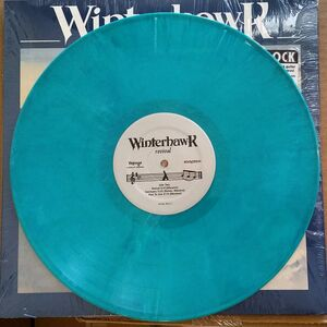 Winterhawk Revival LP green vinyl
