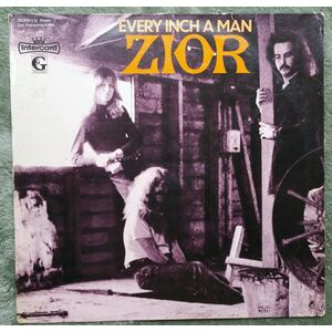 Zior - Every Inch A Man LP cover