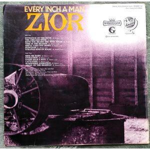 Zior - Every Inch A Man LP back cover