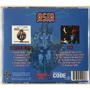 Asia - Asia / Armed to the Teeth CD PROGAOR01
