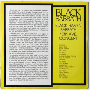 Black Sabbath - Black Haven 2-LP