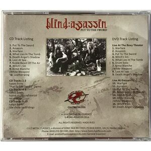 Blind Assassin - Put To The Sword CD (+DVD)