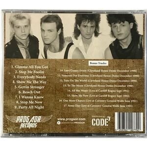 Briar - Reach Out : The Lost 1988 Album CD