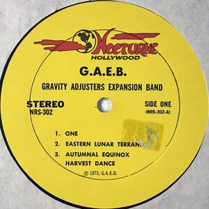 Gravity Adjusters Expansion Band - One LP