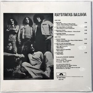 Haystacks Balboa - Haystacks Balboa LP Poly 4032