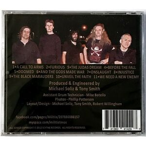 Militia - Strength And Honor CD M2