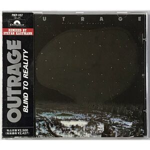 Outrage - Blind To Reality CD