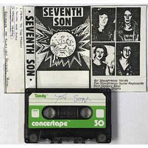 Seventh Son - Radio Hallam Session / Metal To The Moon Demo Cassette Demo