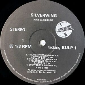 Silverwing - Alive And Kicking LP