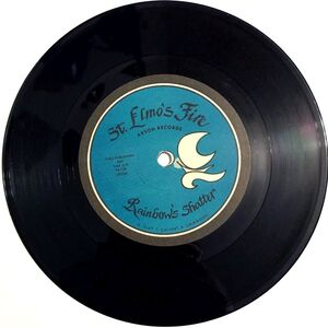 St. Elmo's Fire - The Lady Has No Heart / Rainbow's Shatter 7-Inch