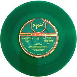 The Kind - Total Insanity 7-Inch green vinyl
