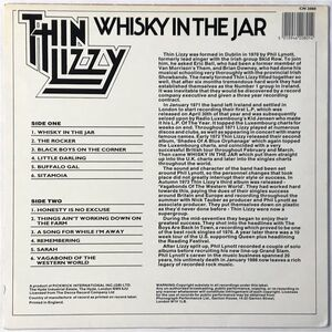 Thin Lizzy - Whisky In The Jar LP CN 2080