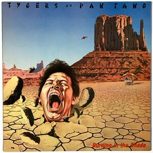 Tygers Of Pan Tang - Burning In The Shade LP ZEB 10