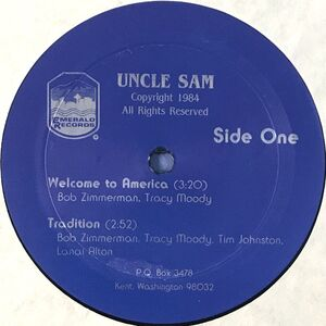 Uncle Sam - Welcome To America LP