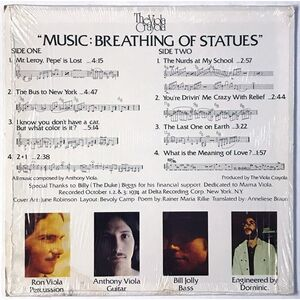 Viola Crayola, The - Music: Breathing of Statues LP Fautna LP