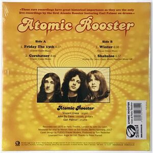 Atomic Rooster - Live At Paris Theatre 1970 EP SIR4044