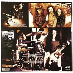 Budgie - Live At The Marquee 1974 LP Atos 3