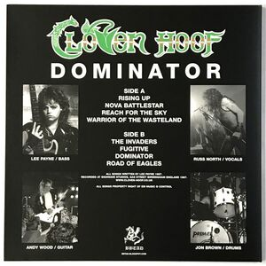 Cloven Hoof - Dominator LP Dust029LP