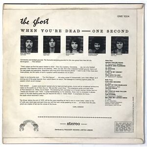 Ghost, The - When You're Dead - One Second LP GME 1004