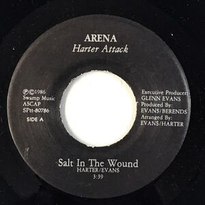 Harter Attack - Salt In The Wound 7-Inch SPtt-80786