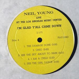Young, Neil - I'm Happy That Y'All Came Down 2-LP 70-011